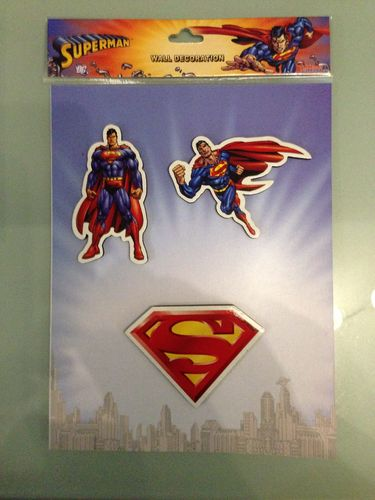 Vinyl Stickers - Superman Aufkleber Wand Sticker Blister