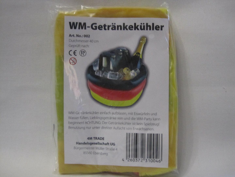 Getränke- Kühler Deutschland WM - Wurfmaterial-koeln